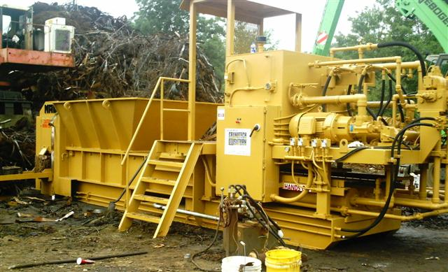 MAC 5200 Industrial Metal Baler